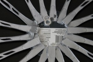 Sunburst Mirror Back