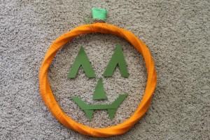 Jack-O-Lantern Wreath