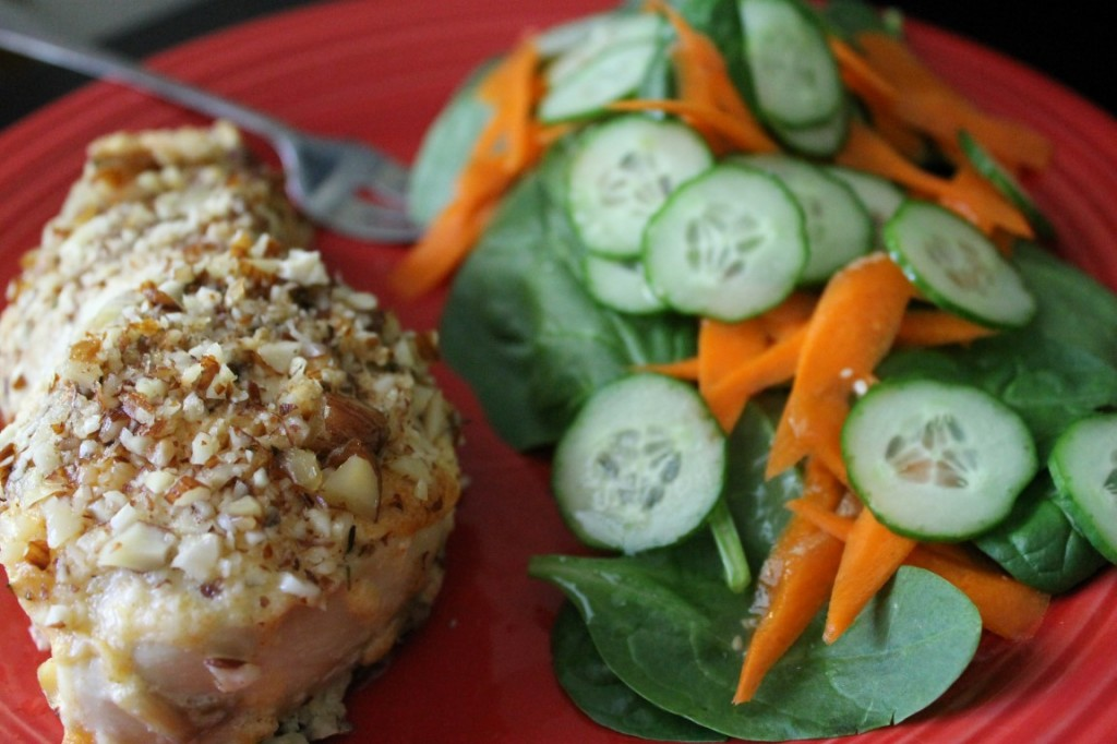 Almond Encrusted Chicken