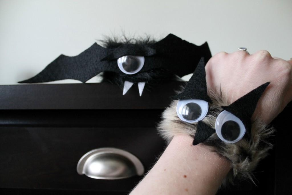 Fuzzy Monster Snap Bracelets