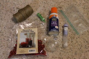 Glass Ornament Supplies