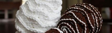 Crochet Pine Cones