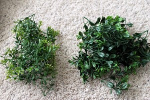 Boxwood Wreath Pieces