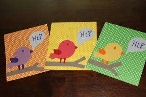 Little Birdie Cards