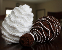 Free Crochet Pine Cone Pattern