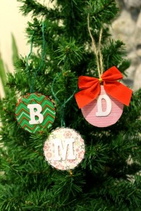 DIY Gift Tags as Ornaments