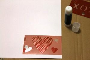 Foil Valentine Glue